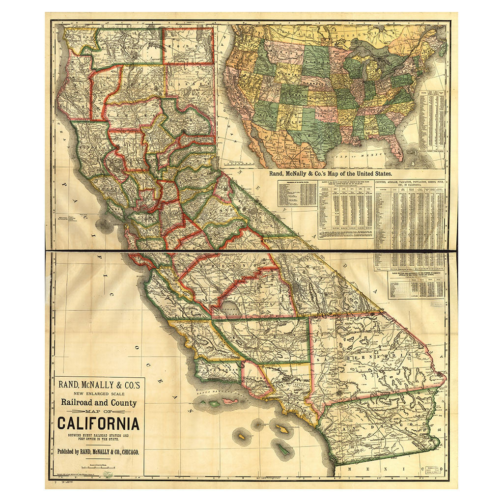 Our State Map of California