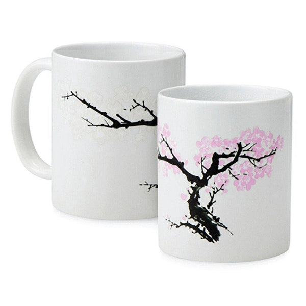 Cherry Blossom Morph Mug - Library of Congress Shop