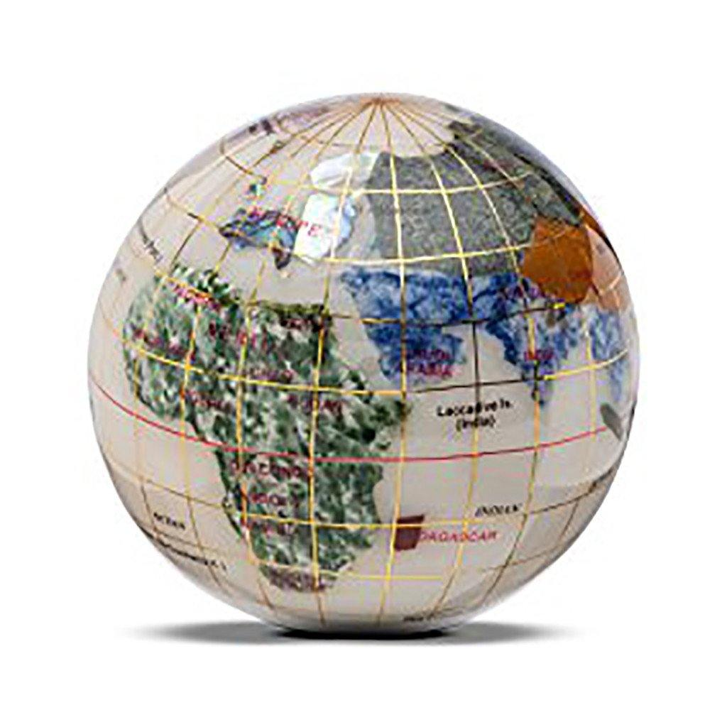Gemstone globe paperweight library of congress shop gemstone globe paperweight library of congress shop gumiabroncs Image collections