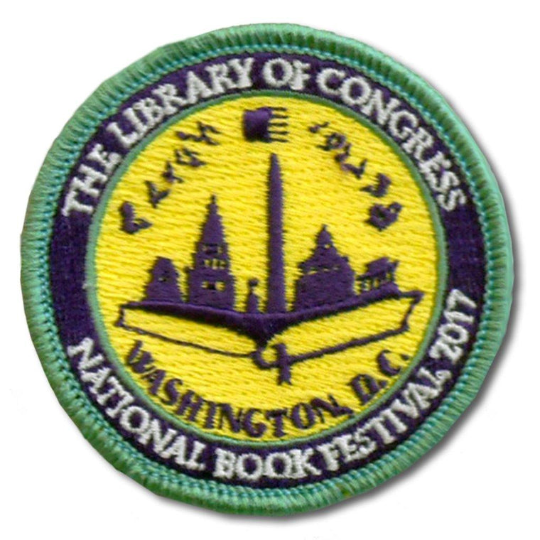 2017 National Bookfest Patch