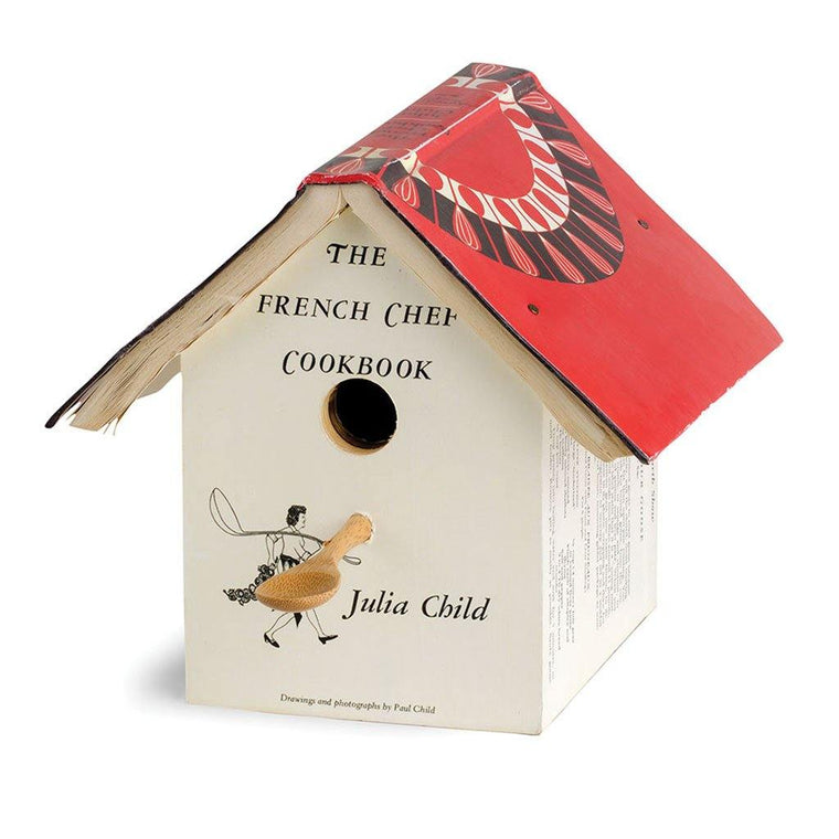 French Cookbook Birdhouse