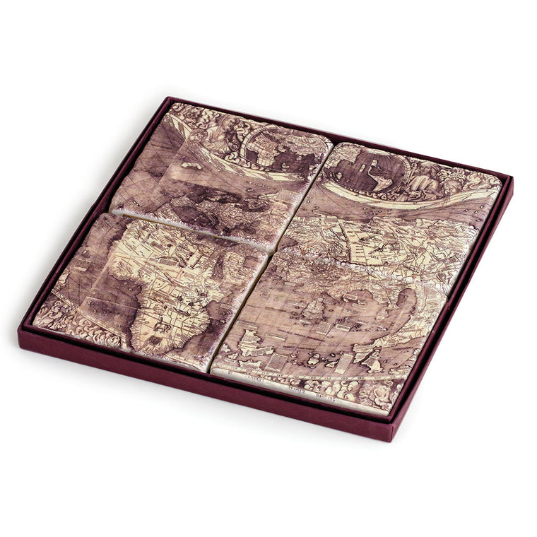 Waldseemuller Map Coasters