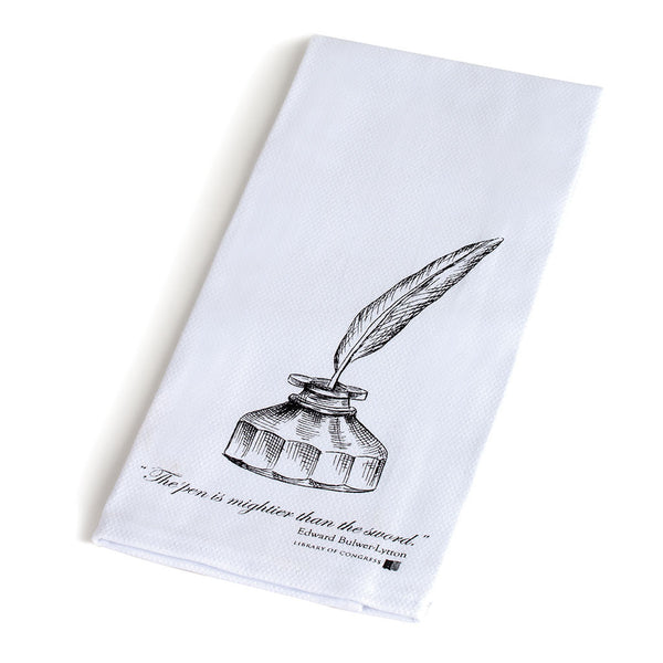 Literary Quote Tea Towel - Library of Congress Shop