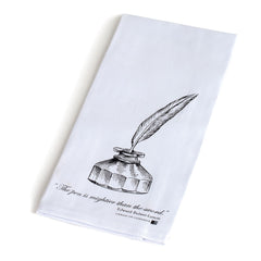 Literary Quote Tea Towel