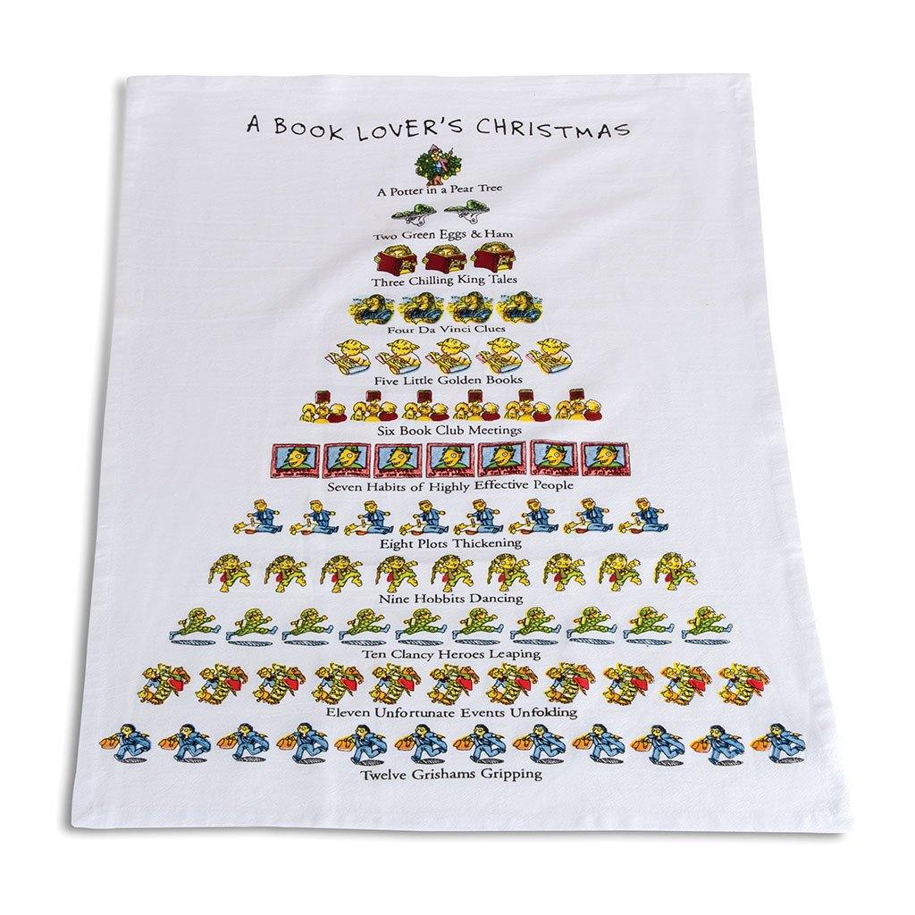 Book Lover's Tea Towel - Library of Congress Shop