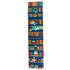 Library Bookshelf Silk Scarf - Library of Congress Shop