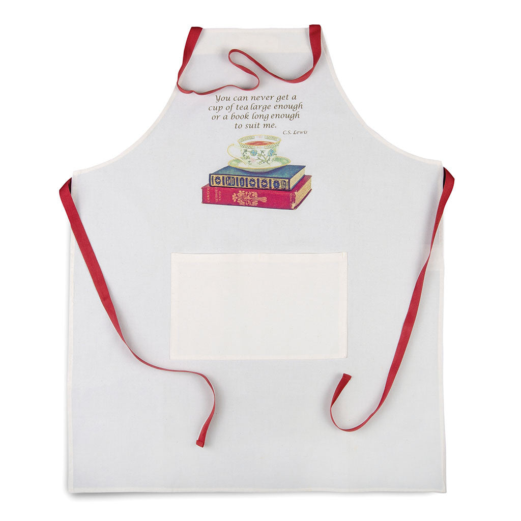 Tea and Books Apron