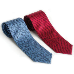 Constitution Silk Tie - Library of Congress Shop