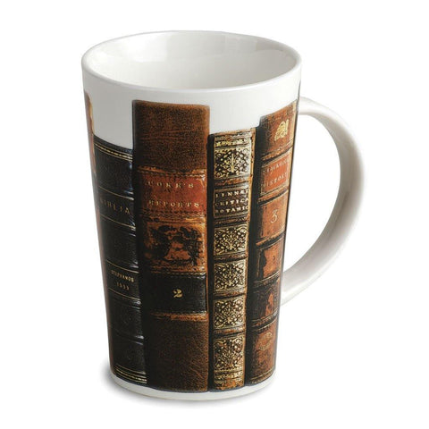 Antique Books Bone China Mug