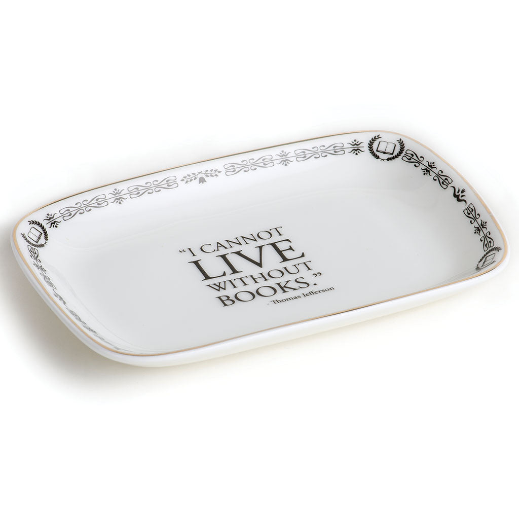 I Cannot Live Tray - Library of Congress Shop