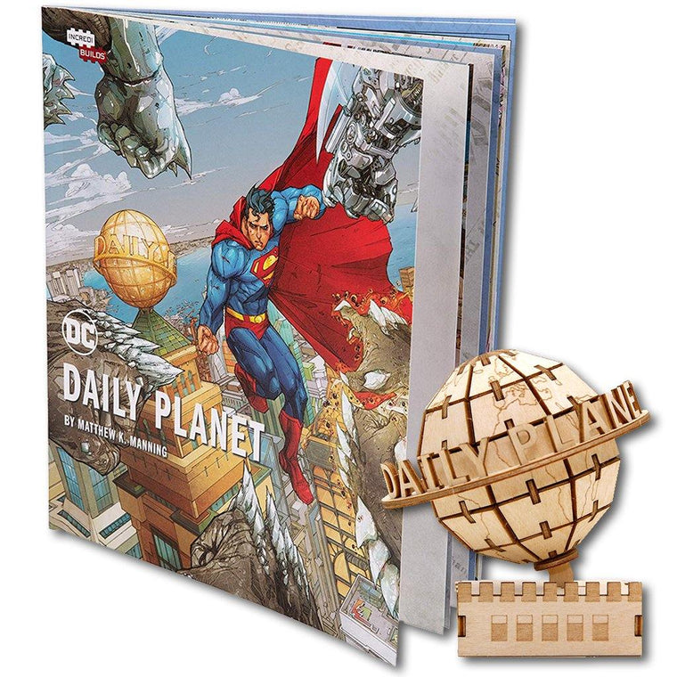 Daily Planet 3-D Model and Book