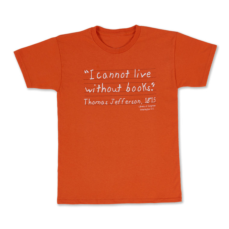 I Cannot Live Without Books Kids T-Shirt