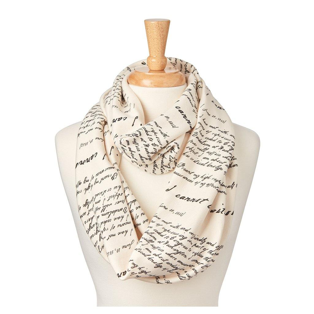 'I Cannot Live Without Books' Infinity Scarf