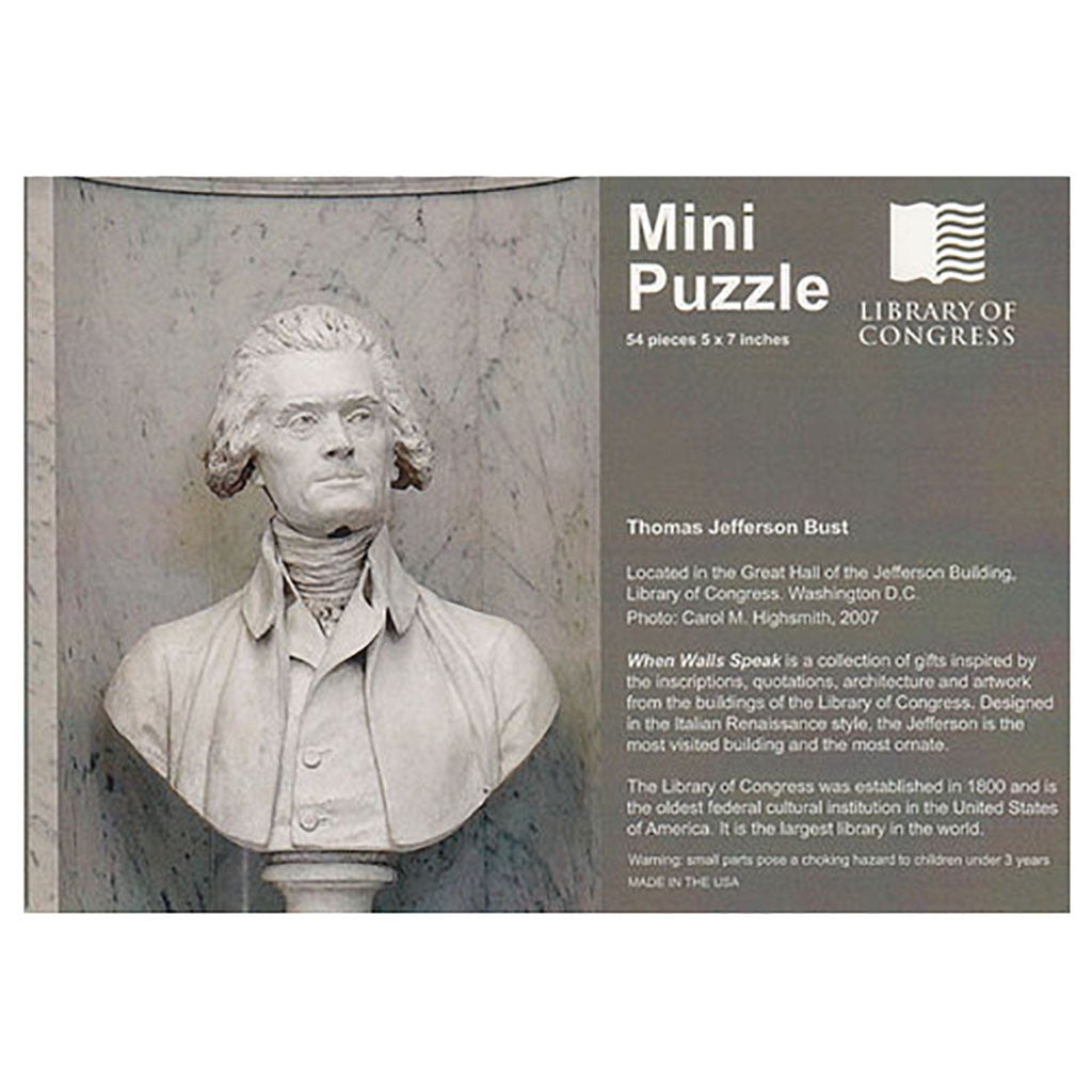 Thomas Jefferson Mini Puzzle