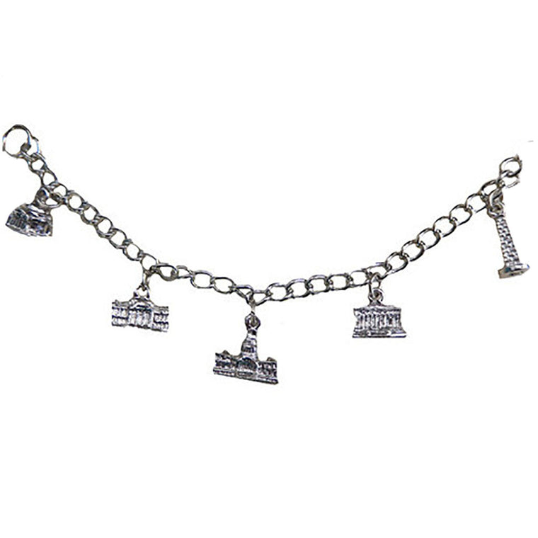 Washington, D.C. Charm Bracelet