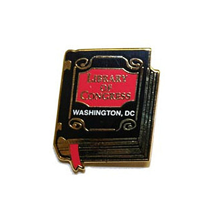 Library of Congress Book Pin