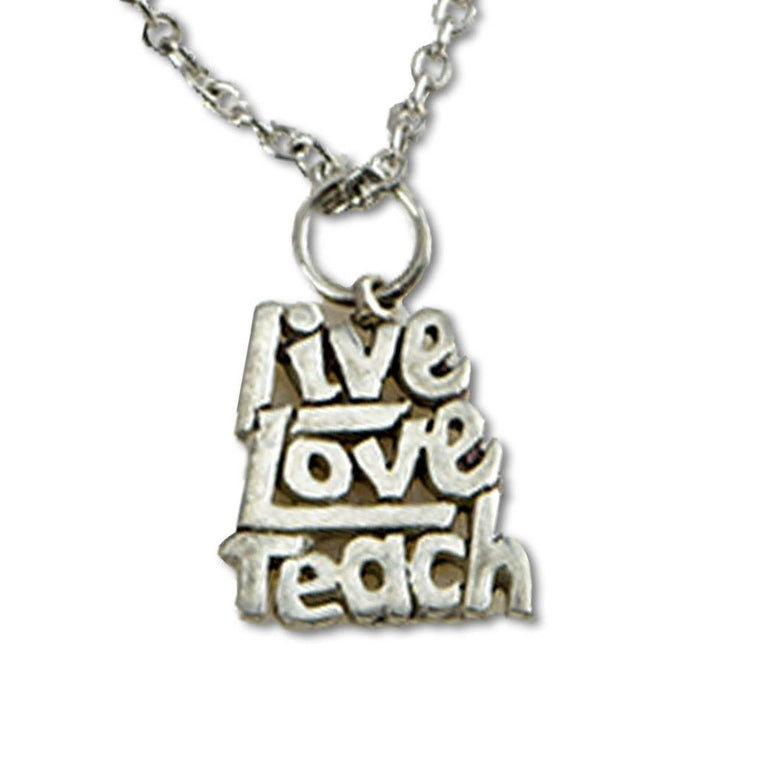 Teach Pendant Necklace