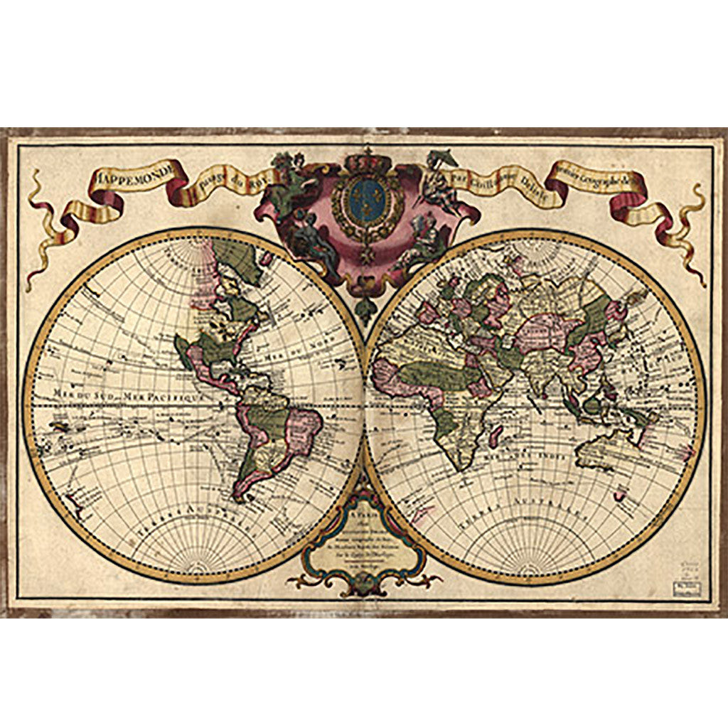 Our World Map, Mappemonde a l'usage du roy (Earth)