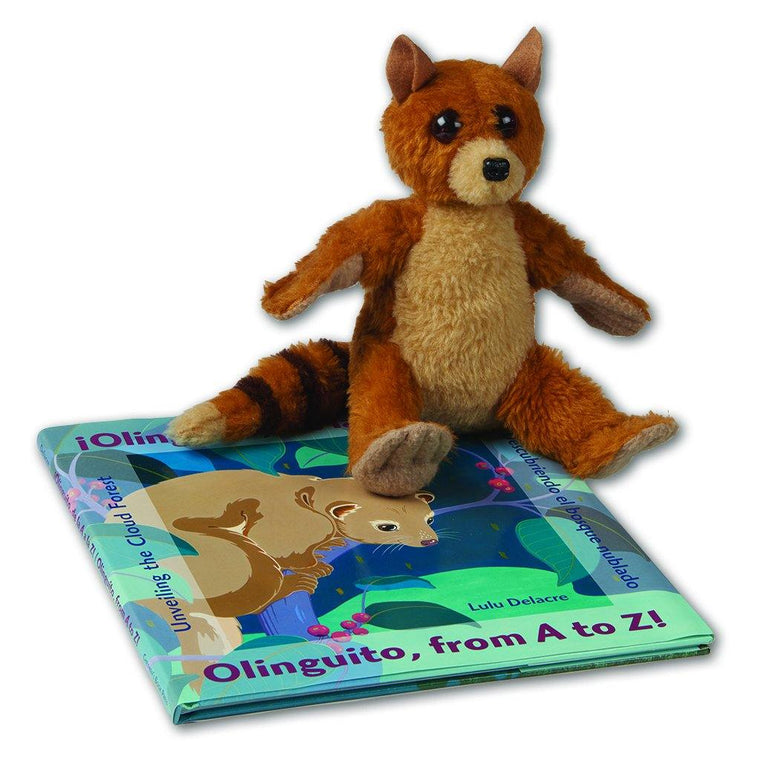 Olinguito Book and Plush (sold separately)