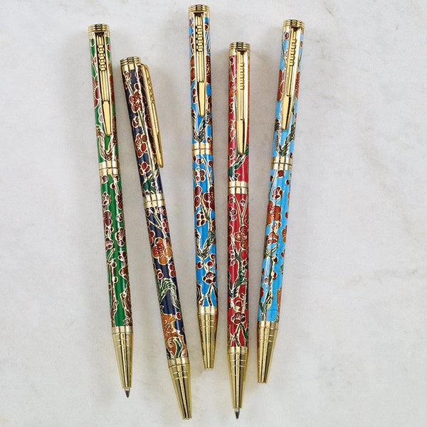 Cloisonné Pen Set - Library of Congress Shop