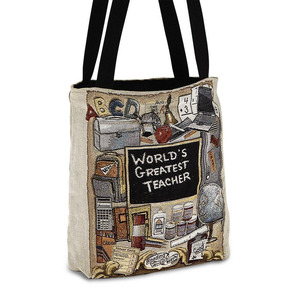 Greatest Teacher Tote - Library of Congress Shop