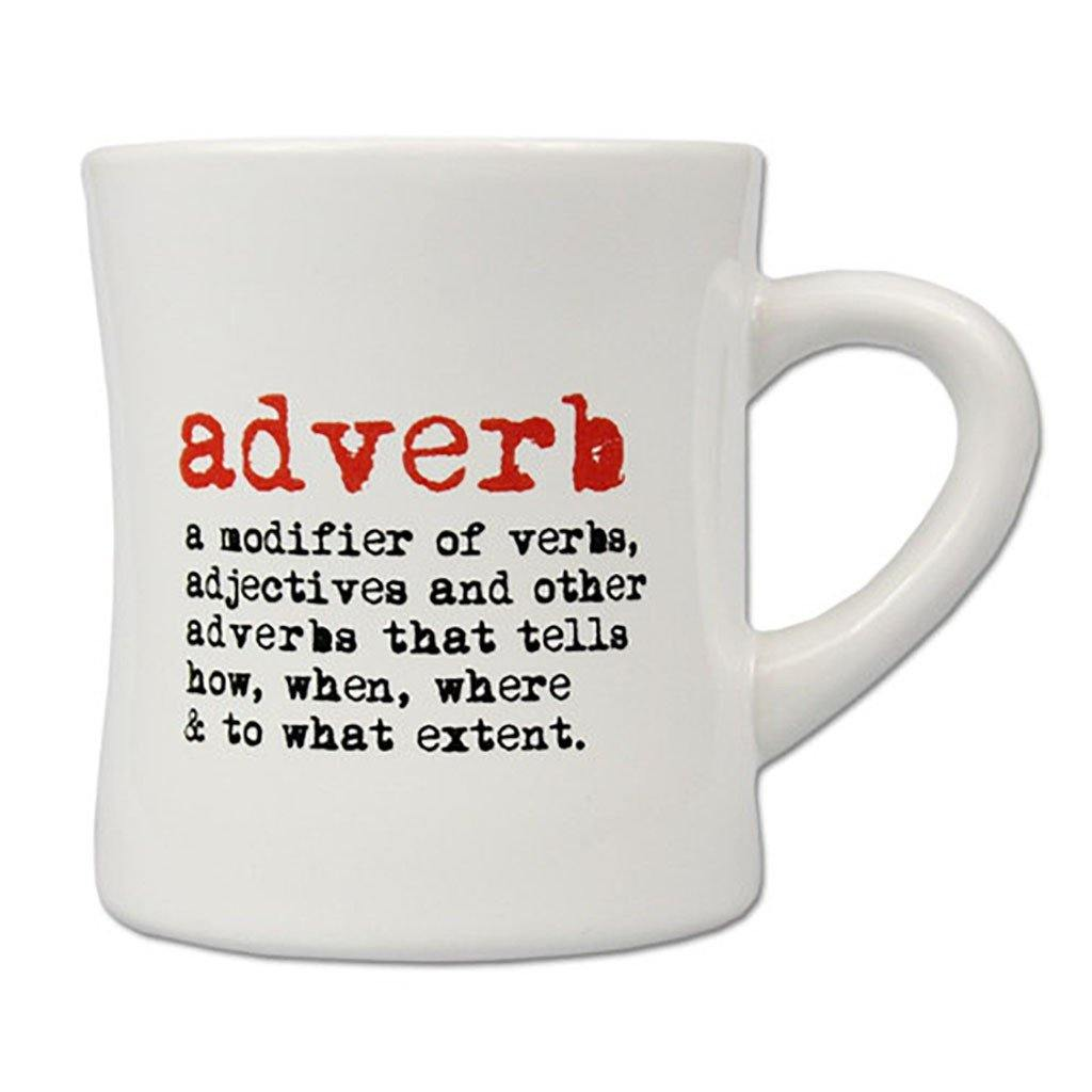 Adverb Mug - Library of Congress Shop