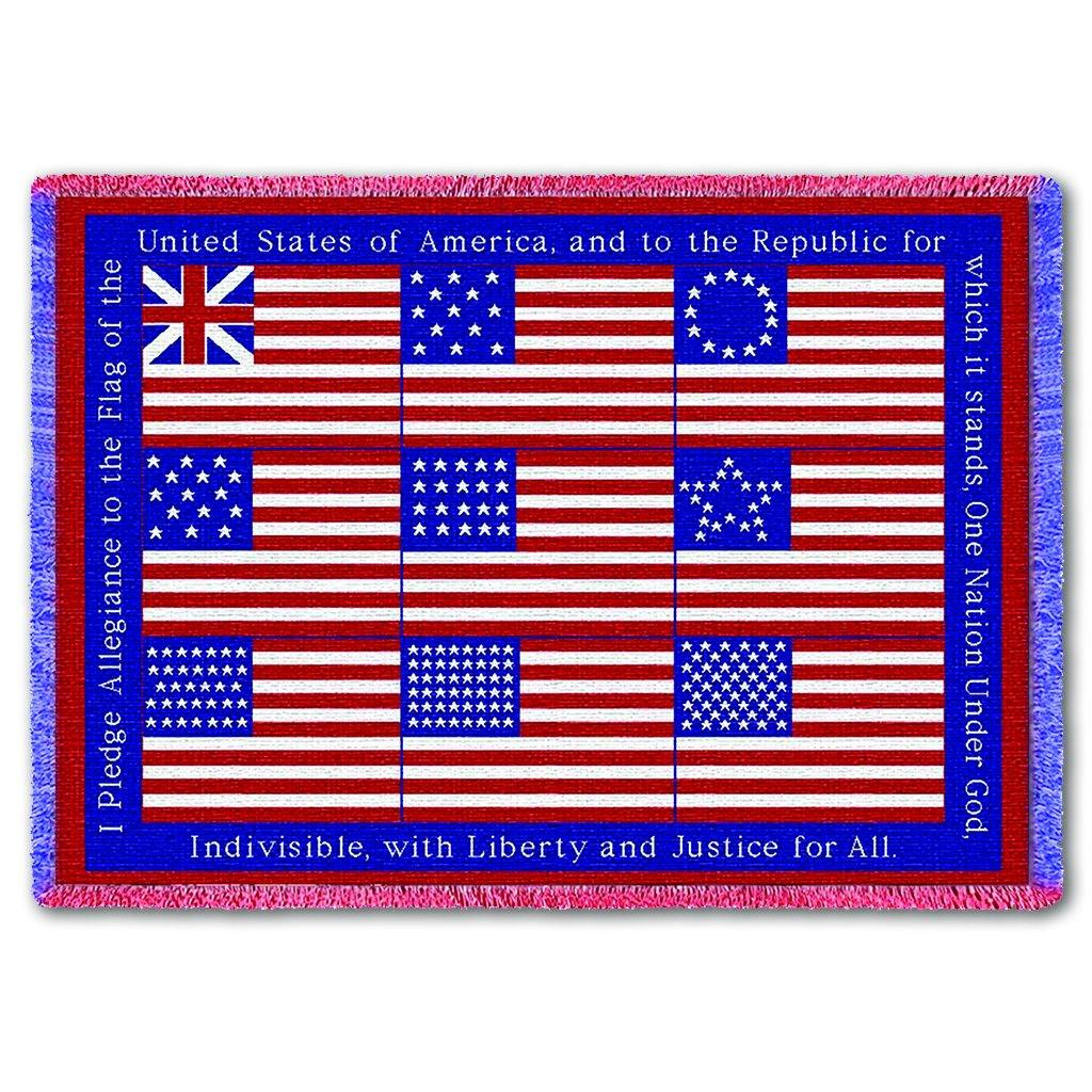 Pledge of Allegiance Throw - Library of Congress Shop