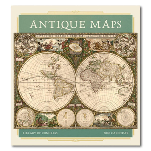Antique Maps 2020 Wall Calendar on