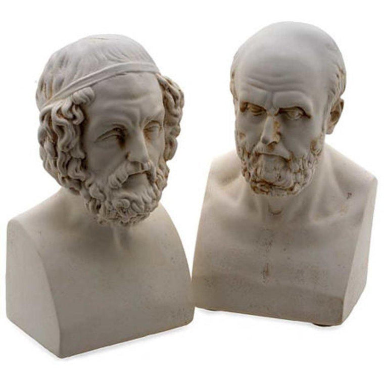 Aristotle and Homer Bookends