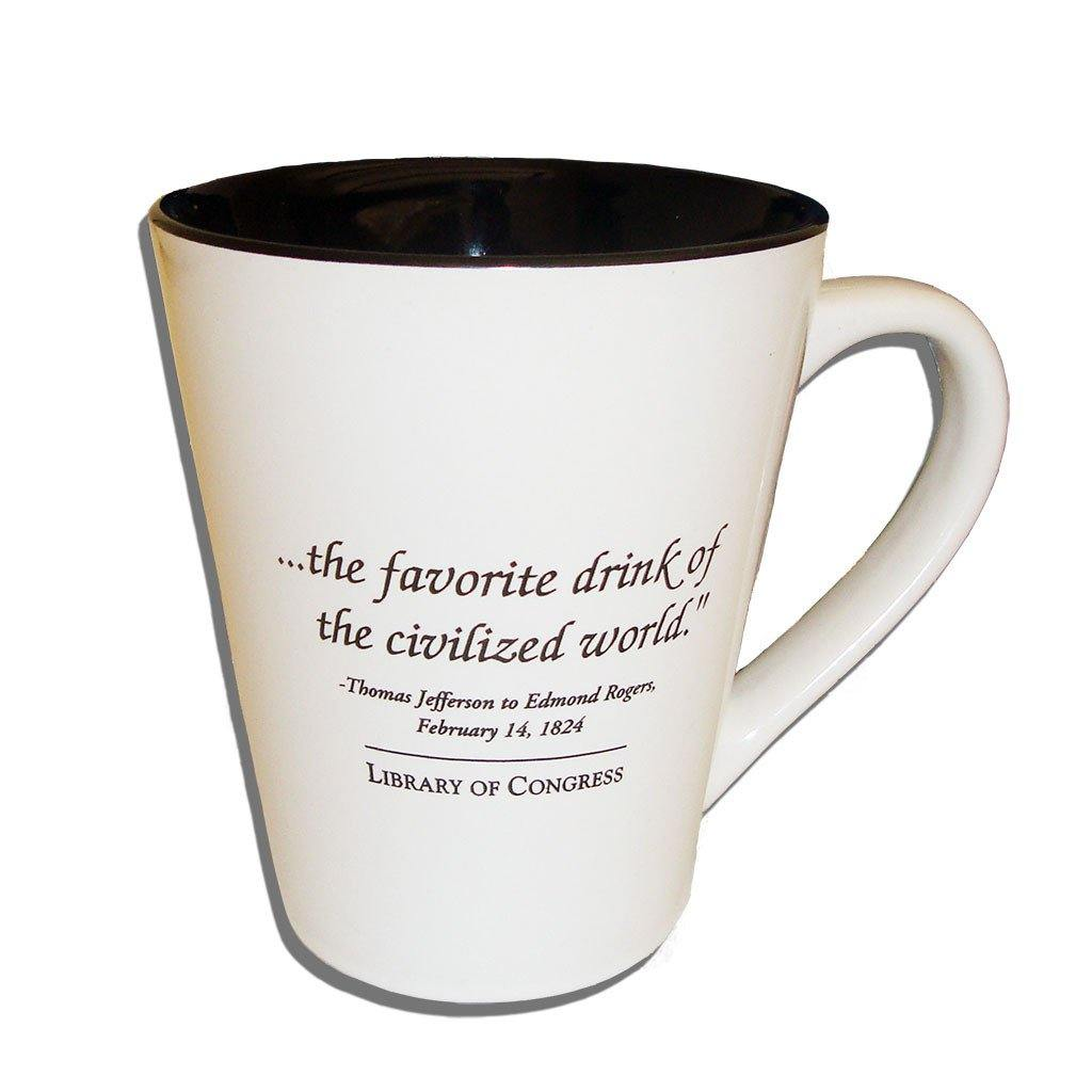 Coffee Quote Mug - Library of Congress Shop