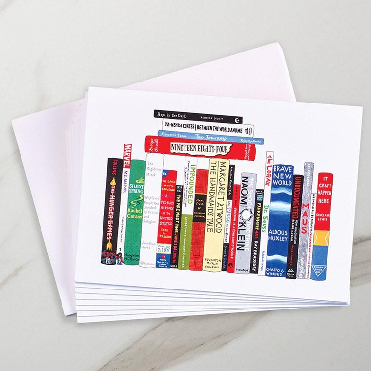 Banned Books Literary Notecards
