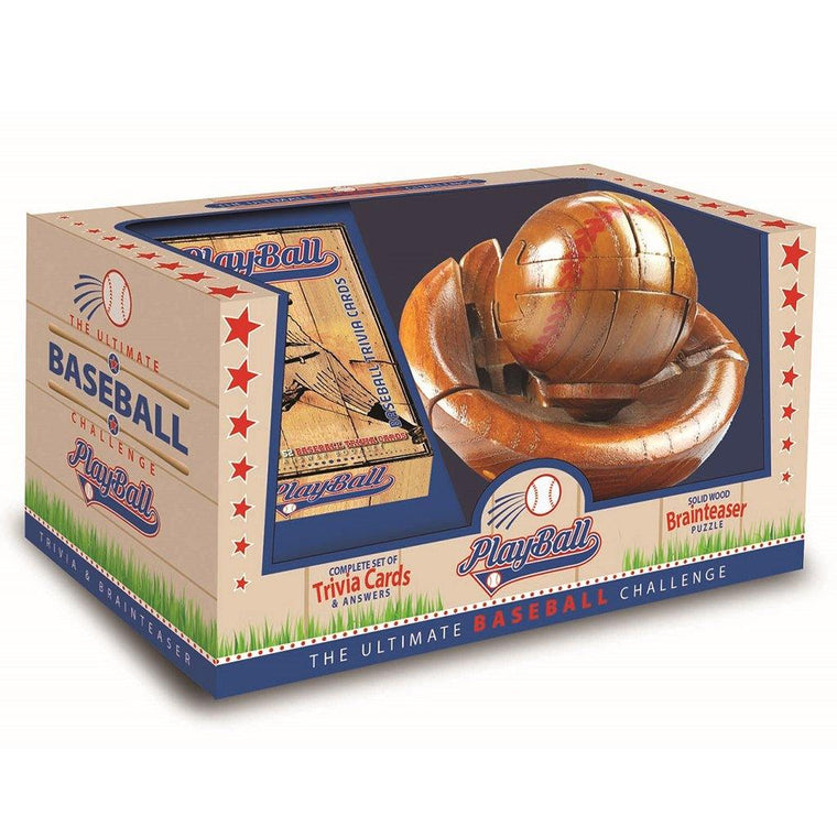 3D Baseball Puzzle