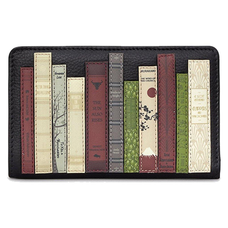 Classic Lit Leather Zip-Around Wallet