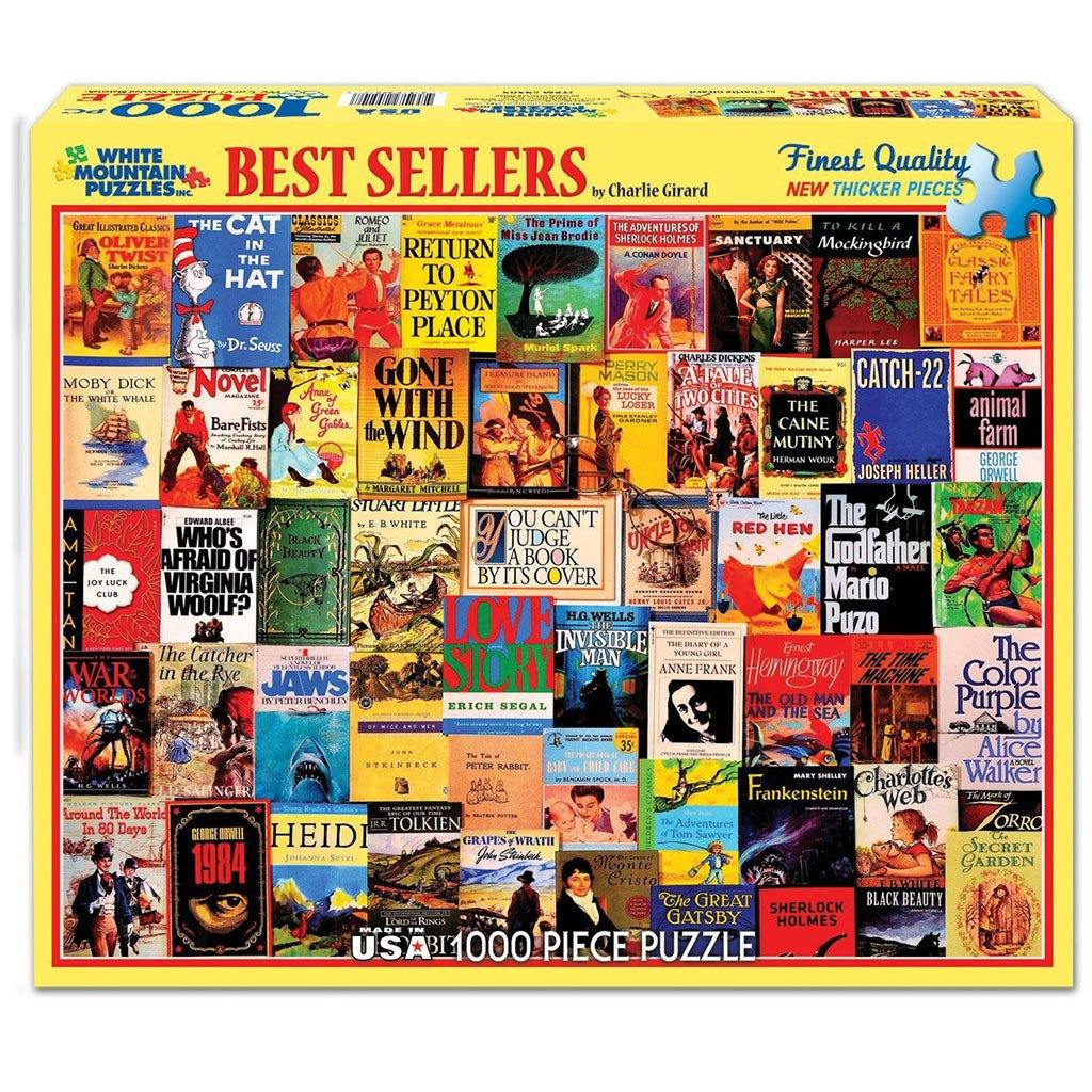 Bestsellers Book Puzzle - Library of Congress Shop