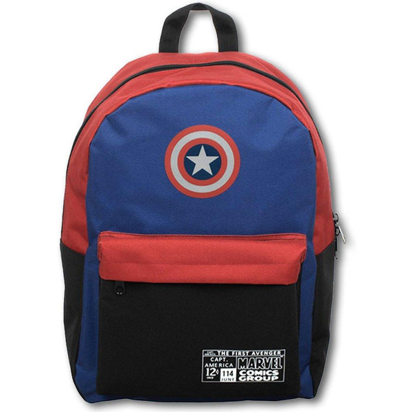 Captain America Backpack - Library of Congress Shop