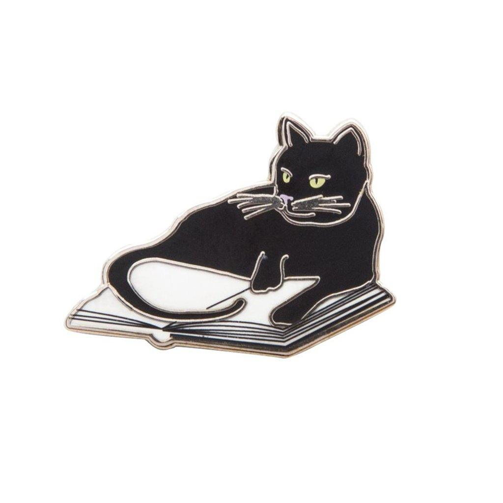 Bookstore Cat Pin - Library of Congress Shop