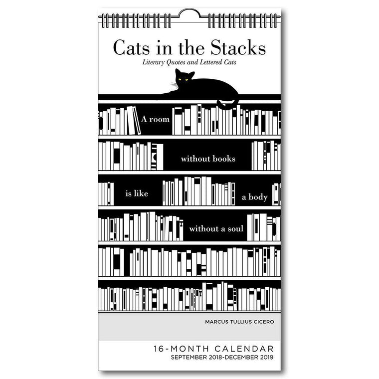 Cats In The Stacks 2019 Calendar