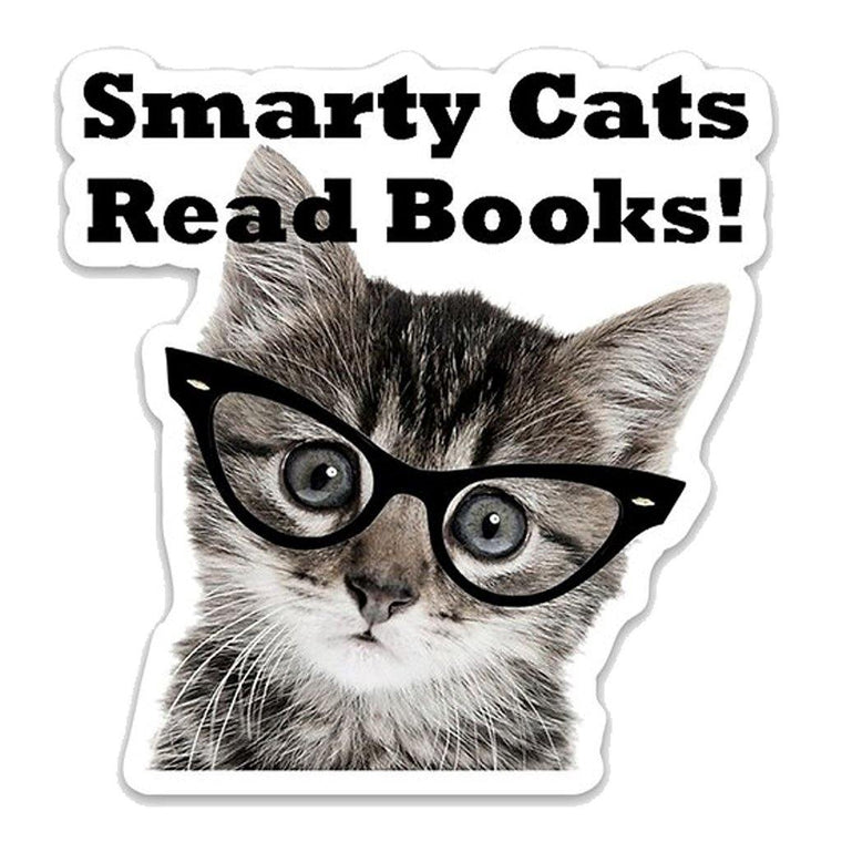 Smarty Cats Sticker