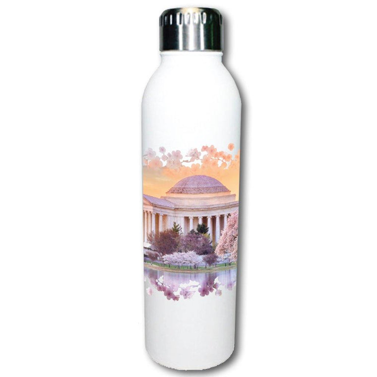 Cherry Blossom Tidal Basin Water Bottle