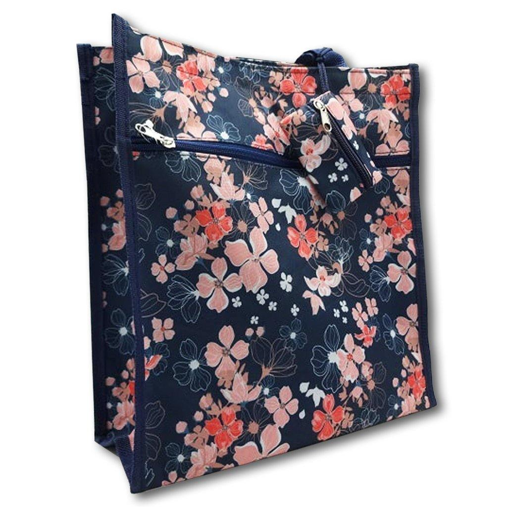 Cherry Blossom Shopper Tote - Library of Congress Shop