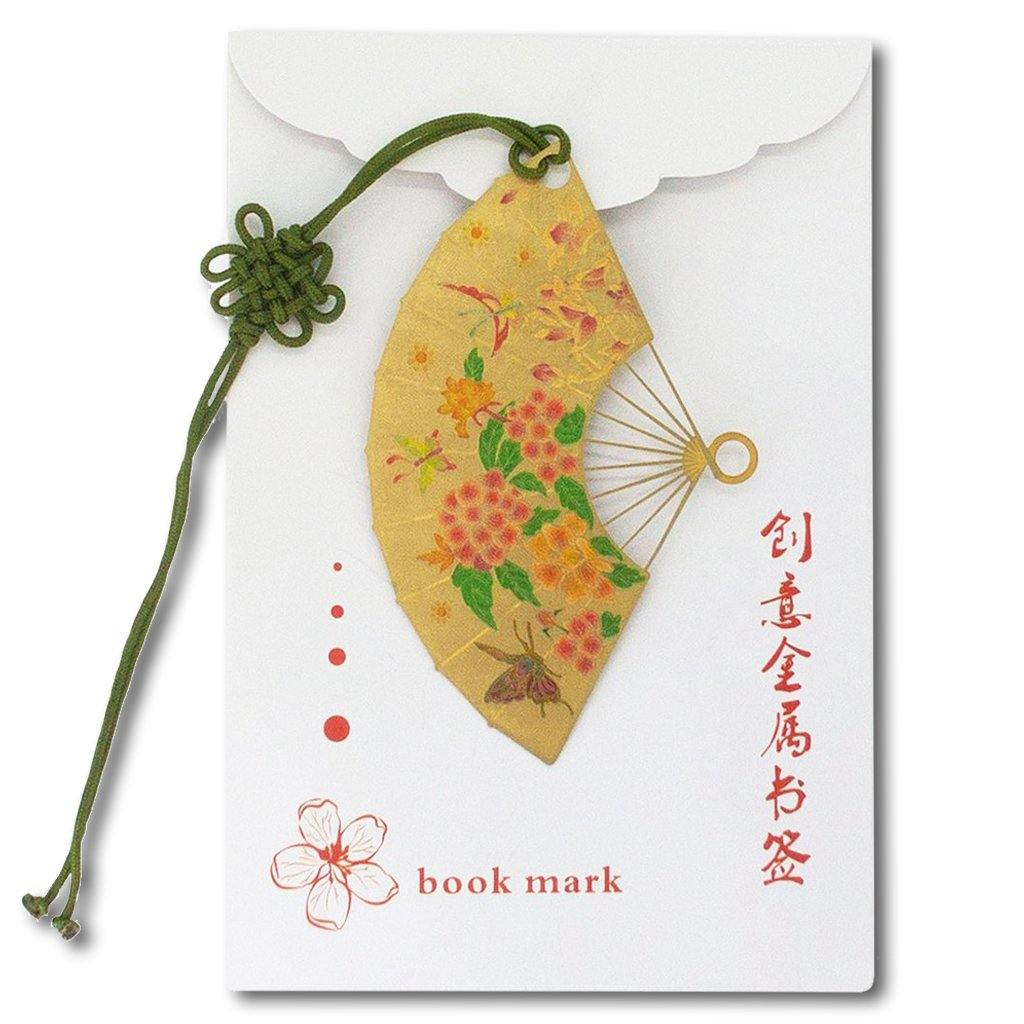 Cherry Blossom Fan Bookmark