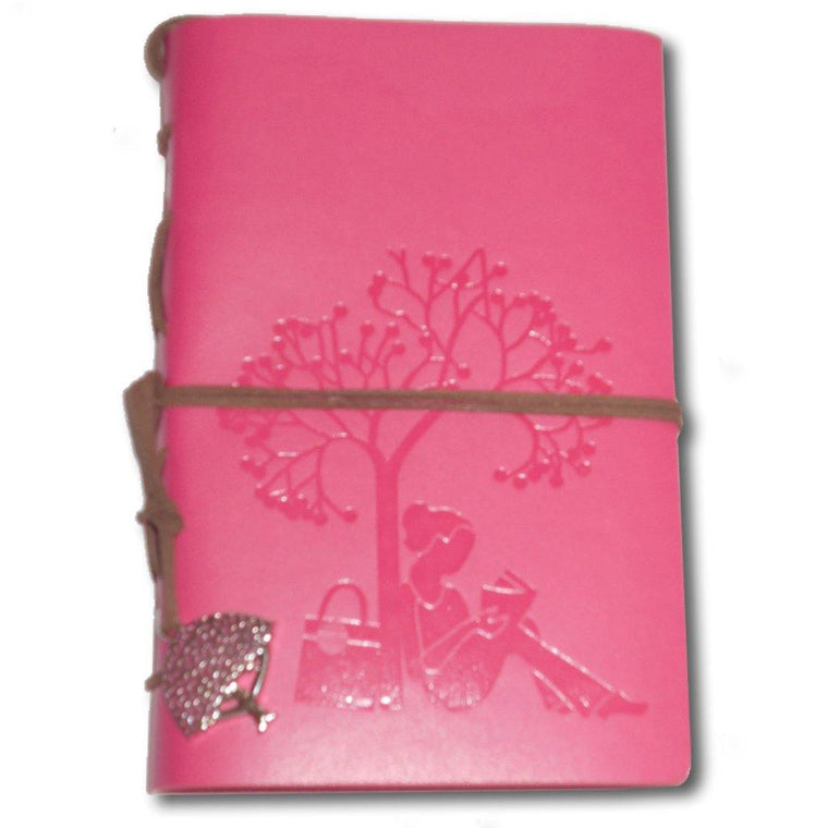 Cherry Blossom Leather Journal