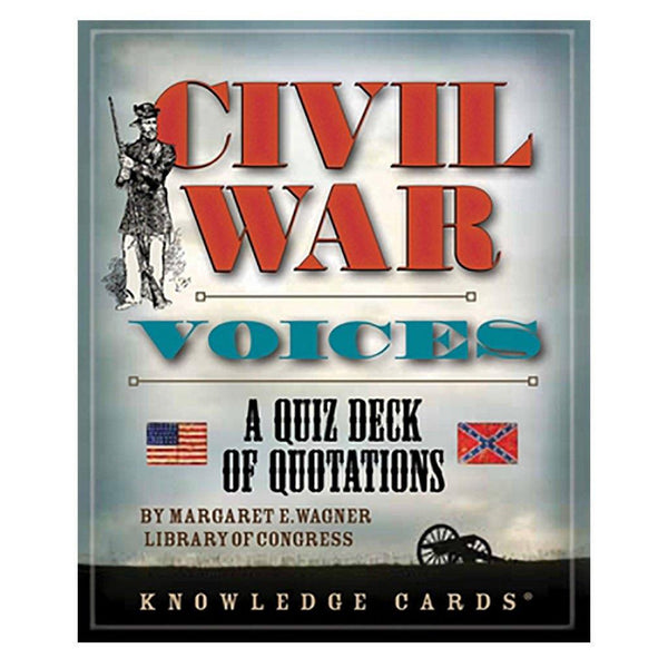 Civil War Voices Knowledge Cards - Library of Congress Shop