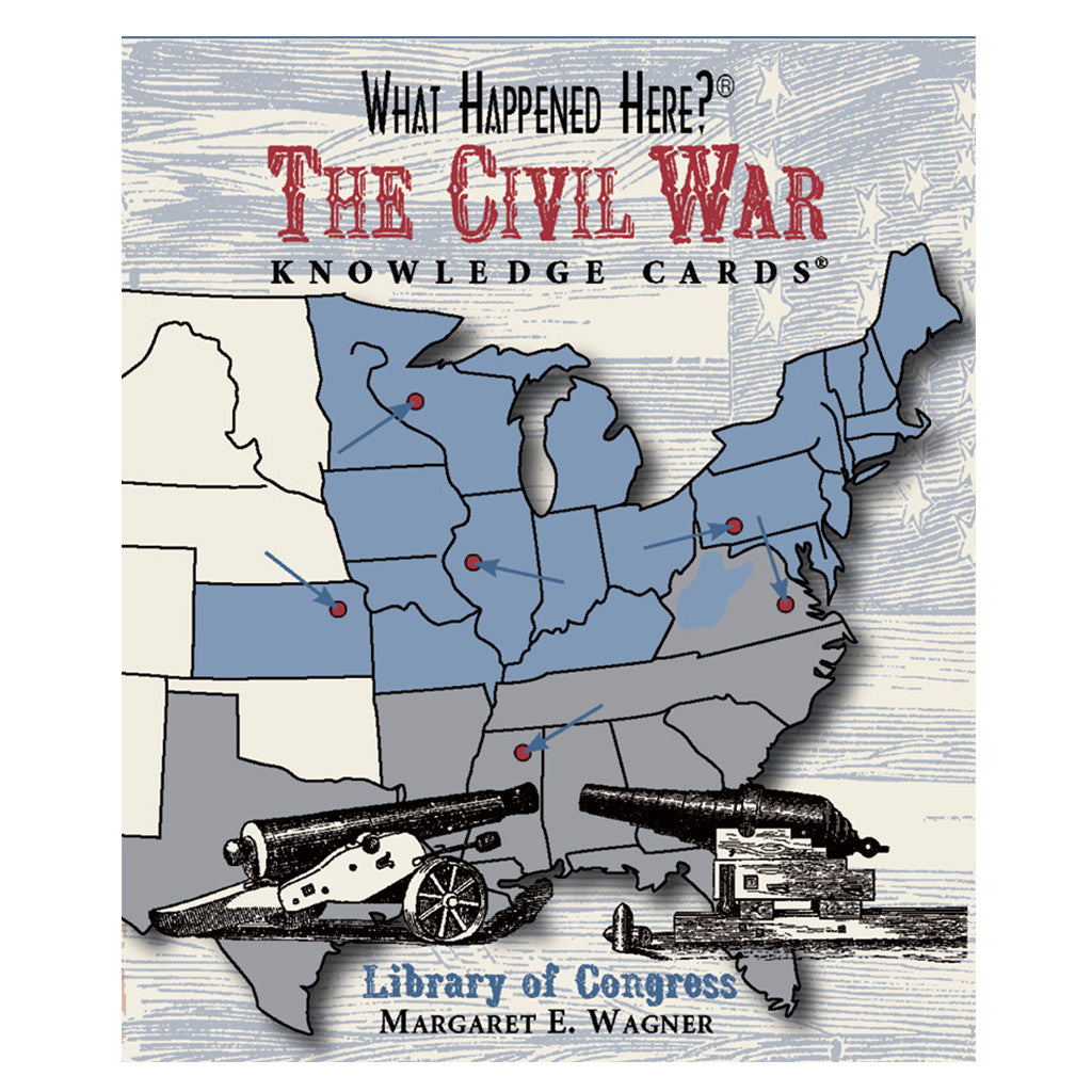 What Happened Here Civil War Knowledge Cards
