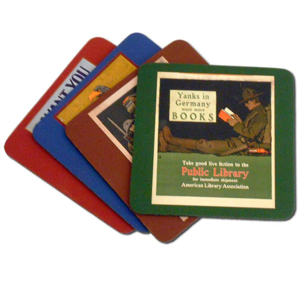 World War I Poster Coaster Set
