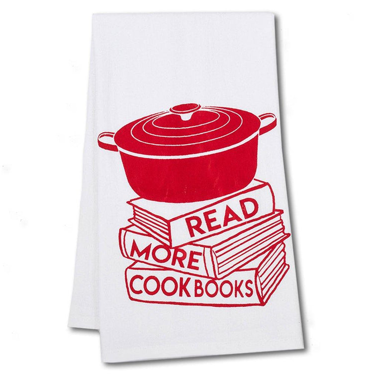 Cookbook Tea Towel