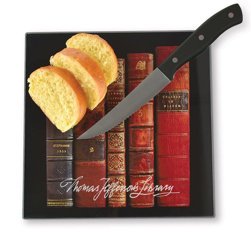 Antique Books Cutting Board - Library of Congress Shop