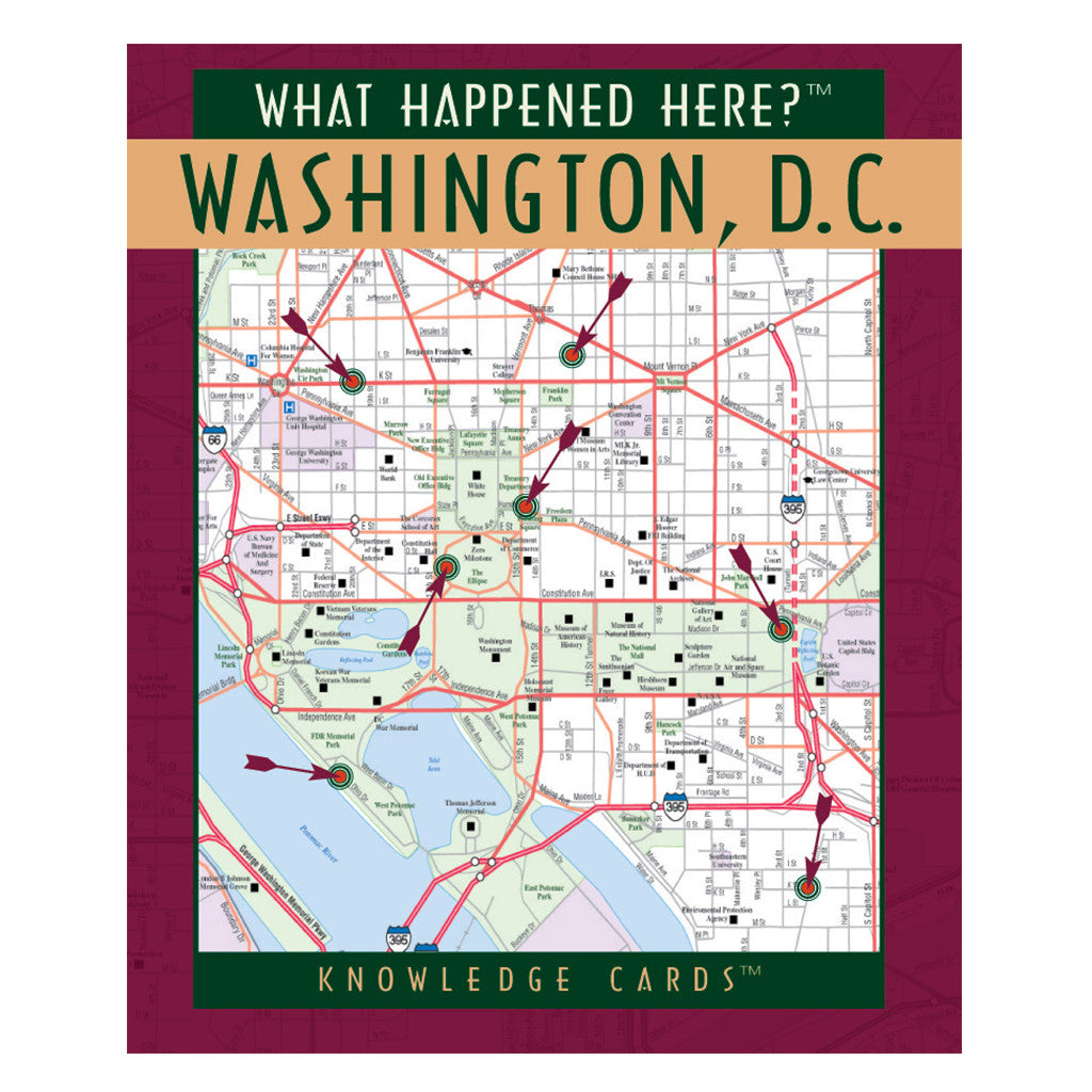 What Happened Here Washington DC Knowledge Cards