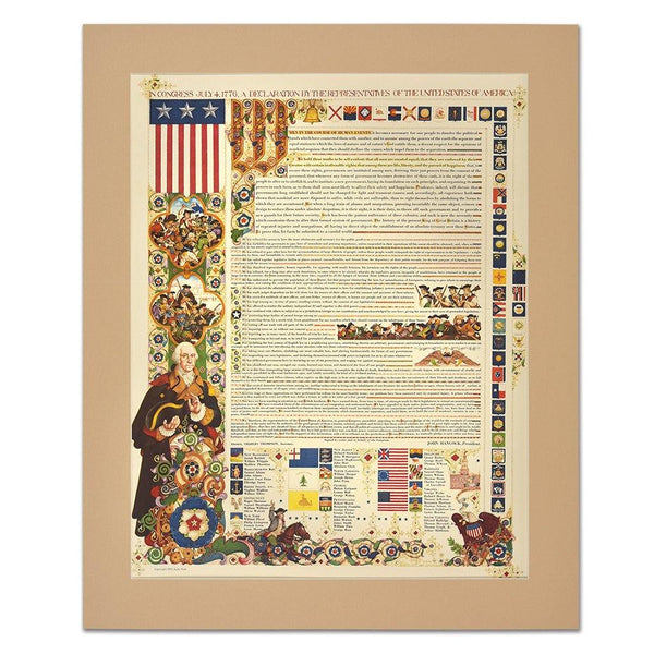 Declaration of Independence Print - Library of Congress Shop