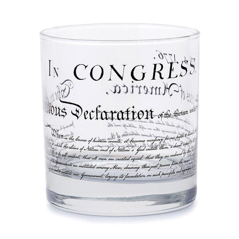 Declaration Old-Fashioned Glass
